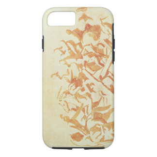 Study of Christ Carrying the Cross (chalk and wash iPhone 7 Case