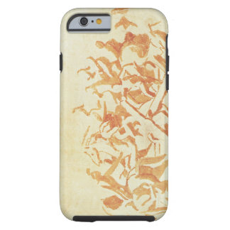 Study of Christ Carrying the Cross (chalk and wash Tough iPhone 6 Case