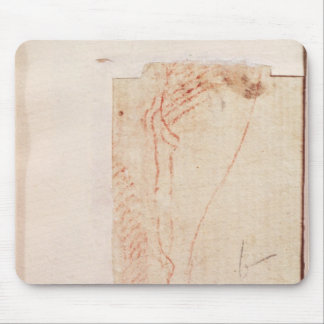 Study of Christ's feet nailed to the Cross Mouse Pad