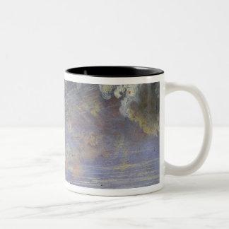 Study of Cirrus Clouds Two-Tone Coffee Mug