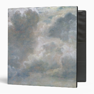 Study of Cumulus Clouds, 1822 (oil on paper laid o Binder