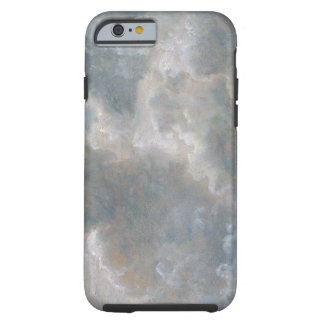 Study of Cumulus Clouds, 1822 (oil on paper laid o Tough iPhone 6 Case