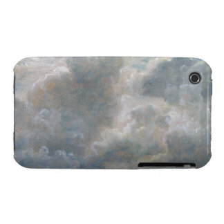 Study of Cumulus Clouds, 1822 (oil on paper laid o iPhone 3 Cover