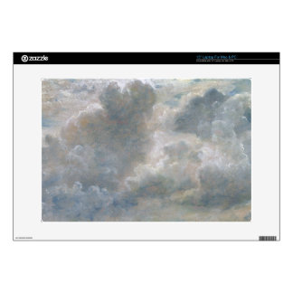 Study of Cumulus Clouds, 1822 (oil on paper laid o Decal For Laptop