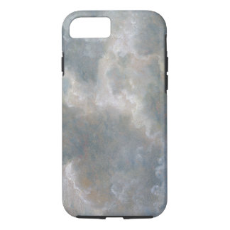 Study of Cumulus Clouds, 1822 (oil on paper laid o iPhone 7 Case