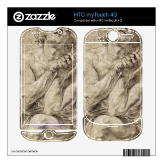 Study of Daniel in the lion s den by Paul Rubens HTC myTouch 4G Skin