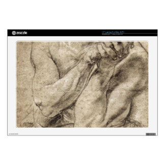 Study of Daniel in the lion's den by Paul Rubens Laptop Decals