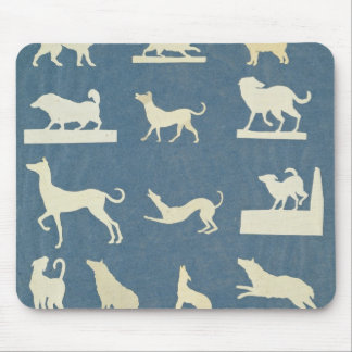 Study of Dogs Mouse Pad