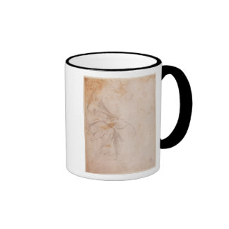 Study of Drapery  c.1516 Ringer Coffee Mug