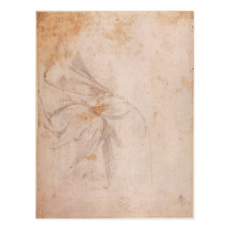 Study of Drapery  c.1516 Postcard
