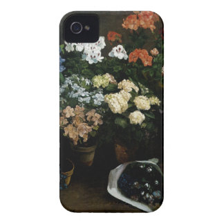 Study of Flowers by Frederic Bazille iPhone 4 Case-Mate Case