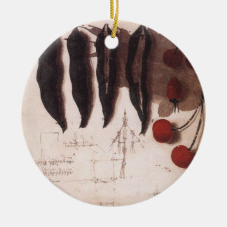 Study of Fruits and Vegetables Christmas Tree Ornaments