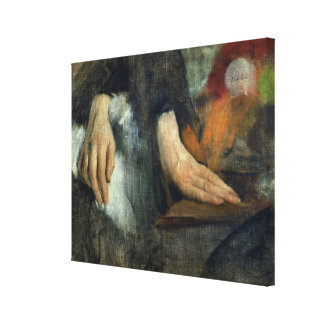 Study of Hands, 1859-60 Canvas Print