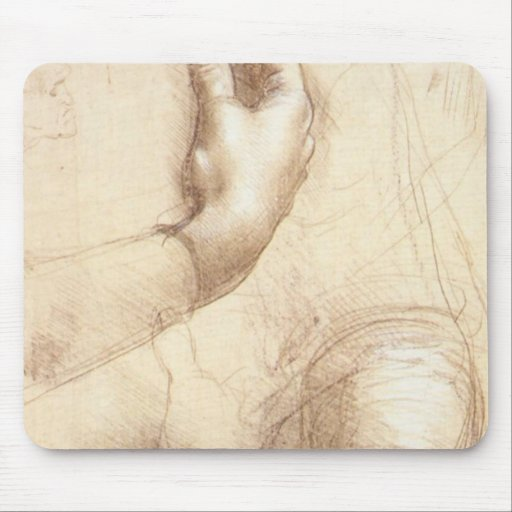 Study of Hands Mouse Pad