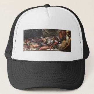 Study of Hawaiian Fish, oil on canvas Trucker Hat