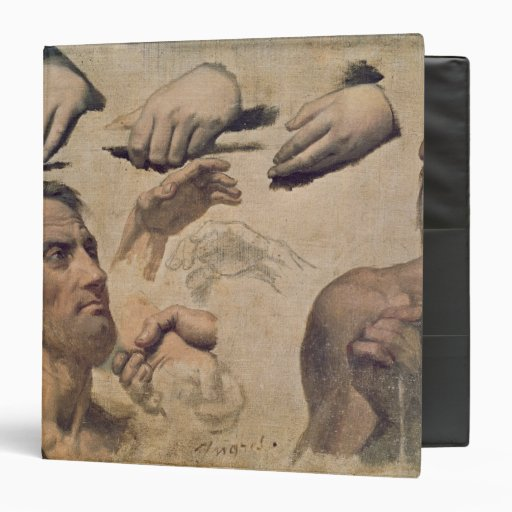 Study of Heads and Hands Binder
