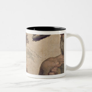 Study of Heads and Hands Two-Tone Coffee Mug