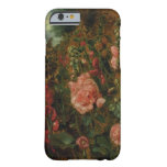 Study of Hollyhocks, c.1826 (oil on board) iPhone 6 Case