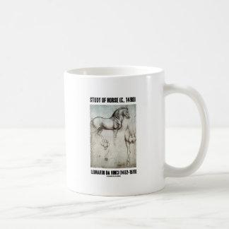 Study Of Horse (c. 1490) Leonardo da Vinci Coffee Mug