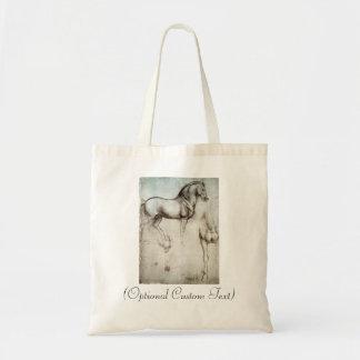 Study of Horses Tote Bag