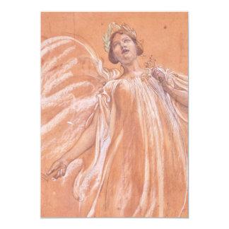 Study of Jenny Lind Card