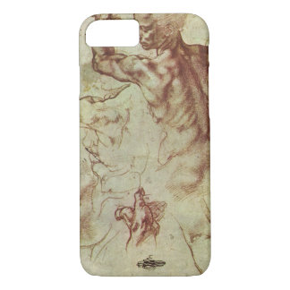 Study of Libyan Sibyl by Michelangelo iPhone 7 Case