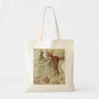 Study of Libyan Sibyl by Michelangelo Tote Bag