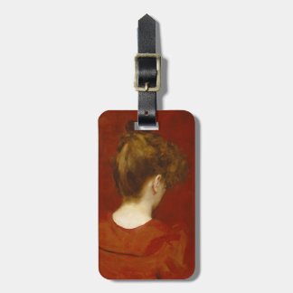 Study of Lilia, 1887 (oil on canvas) Luggage Tag