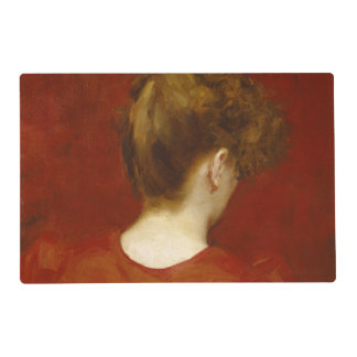Study of Lilia, 1887 (oil on canvas) Placemat