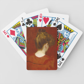 Study of Lilia, 1887 (oil on canvas) Deck Of Cards