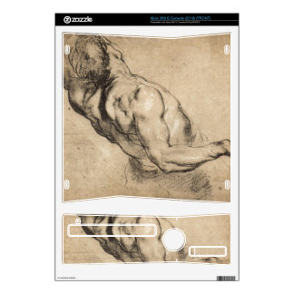 Study of man's torso by Paul Rubens Decal For The Xbox 360 S