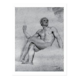 Study of Mars by Anton Mengs Postcard