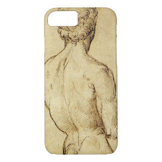 Study of Michelangelo's David Statue by Raphael iPhone 7 Case