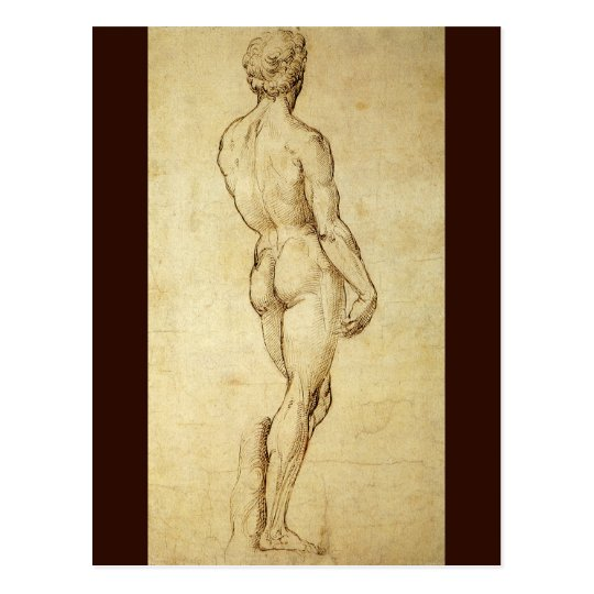 Studies Of A Reclining Male Nude By Michelangelo Joy Of Museums Virtual Tours