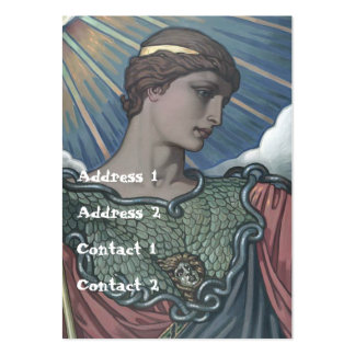 Study of Minerva Large Business Cards (Pack Of 100)