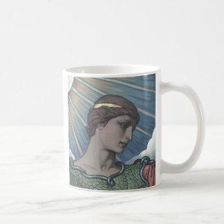 Study of Minerva Classic White Coffee Mug