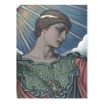 Study of Minerva Postcard