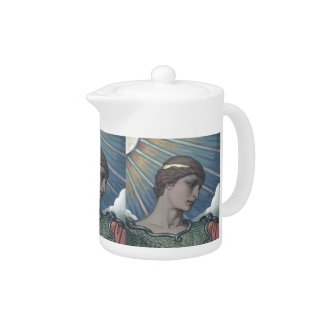 Study of Minerva Teapot