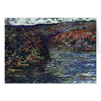 Study of Monet's Water Pass. Size unknown. Card