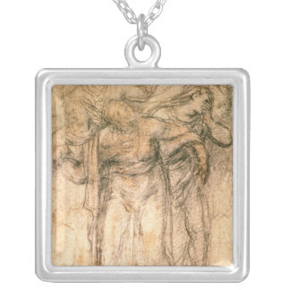 Study of Mourning Women Necklace