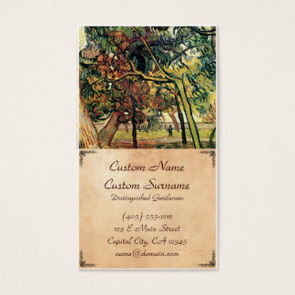 Study of Pine Trees Vincent van Gogh Business Card