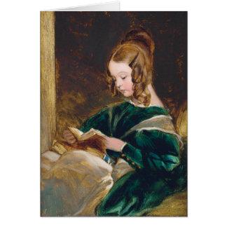 Study of Rachel Russell by Edwin Henry Landseer Greeting Card