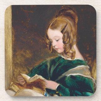 Study of Rachel Russell by Edwin Henry Landseer Coaster