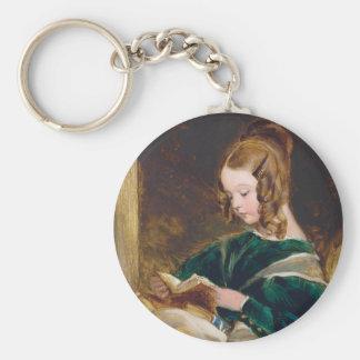Study of Rachel Russell by Edwin Henry Landseer Key Chains