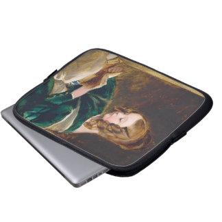 Study of Rachel Russell by Edwin Henry Landseer Laptop Sleeves