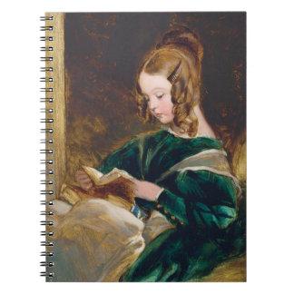 Study of Rachel Russell by Edwin Henry Landseer Spiral Note Book