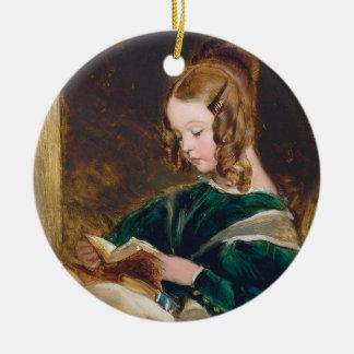 Study of Rachel Russell by Edwin Henry Landseer Ornament
