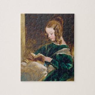 Study of Rachel Russell by Edwin Henry Landseer Jigsaw Puzzles