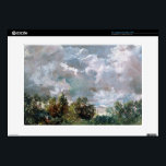 """Study of Sky and Trees (oil on canvas) Decal For 15&quot; Laptop<br><div class=""""desc"""">Image:14450  Study of Sky and Trees (oil on canvas). Constable,  John (1776-1837). Victoria &amp; Albert Museum,  London,  UK.  Art,  Fine Art.</div>"""