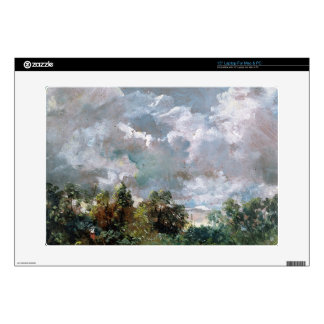 """Study of Sky and Trees (oil on canvas) Decal For 15"""" Laptop"""